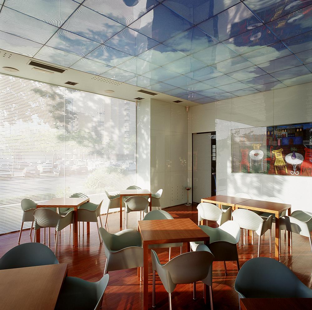 Cafeter a rogelios zaragoza sicilia y asociados for Estudios arquitectura zaragoza