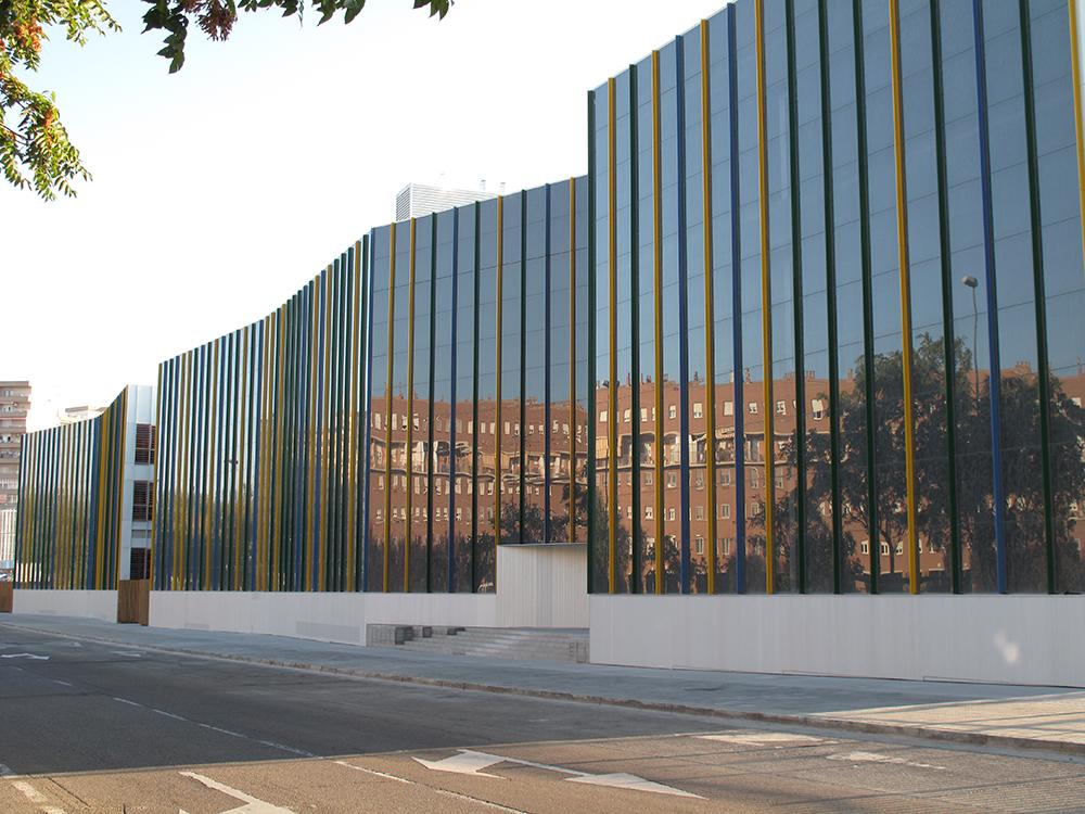 Escuela de arte y escuela superior de dise o zaragoza for Estudios arquitectura zaragoza